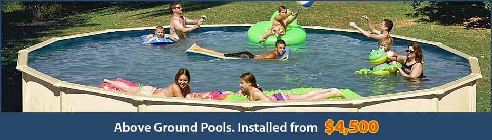 Above Ground Pools Installed In Clarksville Tn