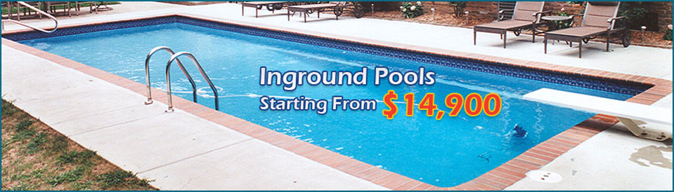 InGround Pools Starting From $14,900